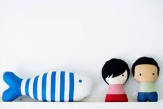 Custom handmades of the tiger, bunny and the striped+spotted boys?