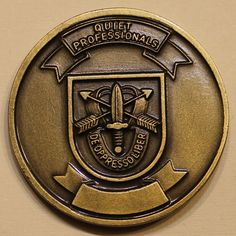 1st Special Forces Group 3rd Special Forces BN Airborne Army Challenge Coin