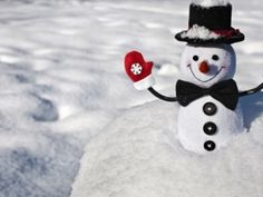 Wallpapers Friendly snowman