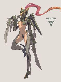 ArtStation - Mantis, franner wong
