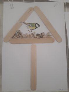 Kŕmitko pre vtáčiky (práca detí)