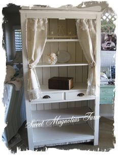 romantic farmhouse decor | so here is the after in all it s romantic farmhouse style a soft ...
