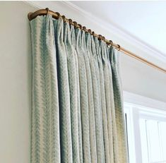 French Curtains, Pleated Curtains, Cool Curtains, Hanging Curtains, Cortinas Boho, Drapery Rods, Curved Curtain Rod, Modern Curtain Rods, Decorative Curtain Rods