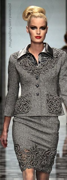 Valentino: if was pants with this look would be head over heels with this outfit. Blazer and shirt  amazing