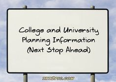 A treasure trove of free articles with helpful college and university planning information as well as valuable tips and advice on how to get into a good university and how to succeed in college.  [Also ... be sure to check out the Top Success Tips list at http://top7ortop10tips.infoslobber.com]
