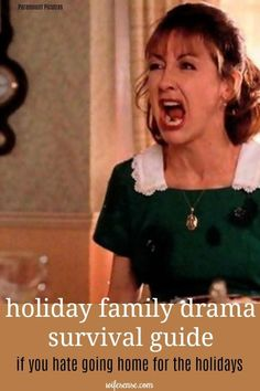 Holiday family drama - 7 survival strategies to manage it.