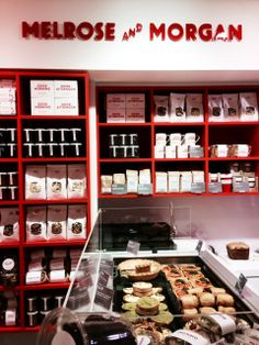MELROSE AND MORGAN: One of our favourite delicatessens has popped up in Selfridges Food Hall #Selfridges #Cakes #Bakery