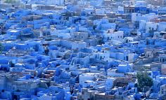 "Jodhpur, ""the blue city, India"