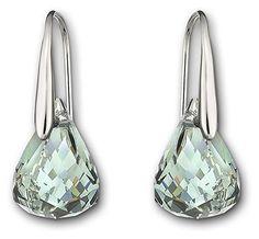 Swarovski Lunar Indian Shire Pierced Earrings 1035229 Duty Free Crystal Jewelry