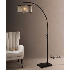 """Found it at Wayfair.ca - Cairano 79.5"""" Arched Floor Lamp"""