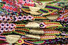 Citrico Friendship Bands... Ethnic Fashion, Boho Fashion, Textiles, Friendship, Product Launch, Bangles, Band, Crochet, How To Wear