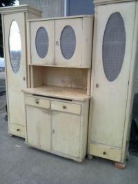 Régi konyhaszekrény eladó használt bútor, antik bútor • konyhabútor