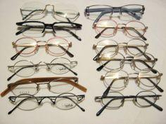 Restposten: 12 Brillenfassungen verschiedener Hersteller. Posten Nummer 6