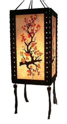 sakura asian oriental saa paper light buld cover hanging decor by tn trade by tn trade