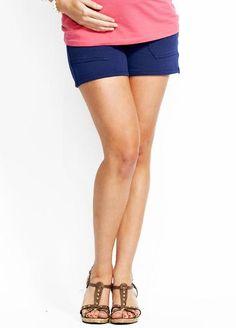 Super Soft Comfort Maternity Shorts