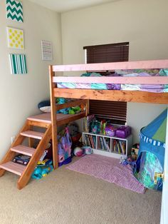 Loft Bed Diy From 2x4s
