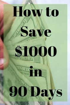 How to Save $1000 in 90 Days | #BudgetingDivas | Divas With A Purpose best… petr.kupicka.pinterest@bezplatnepujcky.cz