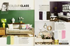 This month's REAL LIVING magazine features the 3 new looks from Taubmans - all featuring our TRC rugs and with some very handy tips from Interior designer Shaynna Blaze.