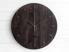 This wooden clock would be a great decoration for your home or office and it also makes a wonderful housewarming gift! It is meant for the creative and inspired. It measures the time precisely while the hands flow continuously without making a sound. The natural wood color will give you