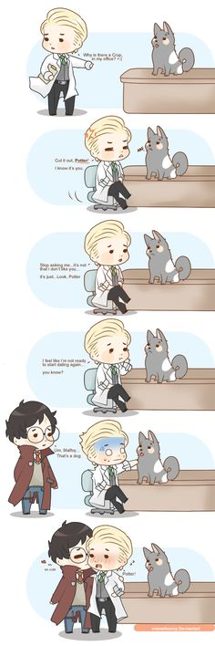 Harry Potter ~ Drarry Draco x Harry Harry Potter Comics, Fanart Harry Potter, Mundo Harry Potter, Cute Harry Potter, Harry Potter Draco Malfoy, Harry Potter Ships, Harry Potter Jokes, Harry Potter Universal, Harry Potter Fandom