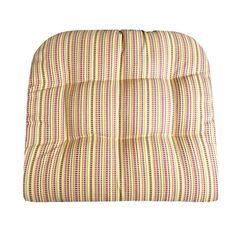ATWOOD PLAID PATIO CUSHIONS & INDOOR/OUTDOOR DINING CHAIR PADS save with coupon #Sale #July4th #Red #Plaid