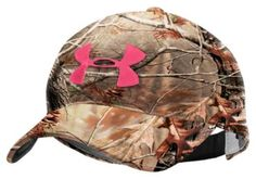 Under Armour® Logo Camo Hunting Cap for Ladies | Bass Pro Shops