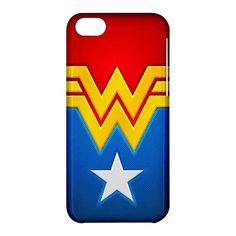Wonder Woman iPhone 5C Hardshell Case Cover