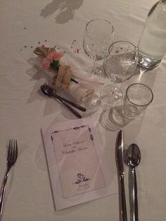 Bröllopsdukningen