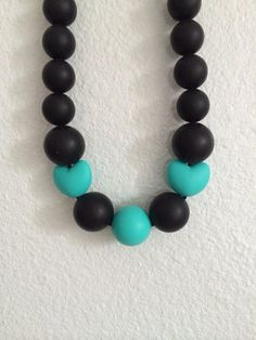 *NEW* Silicone teething necklace on Etsy, $25.00
