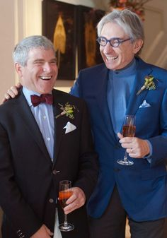 Happy news! Michael Tilson Thomas and his partner of 38 years, Joshua Robison, are married! The private ceremony was officiated by Mark Leno, California State Senator and close personal friend of the couple