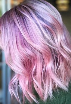 55 Lovely Pink Hair Colors: Tips for Dyeing Hair Pink - hair - Hair Hair Tips Dyed Pink, Dyed Hair Pastel, Colored Hair Tips, Hair Color Pink, Hair Dye Colors, Coloured Hair, Ombre Blond, Blonde Dye, Brown Ombre Hair