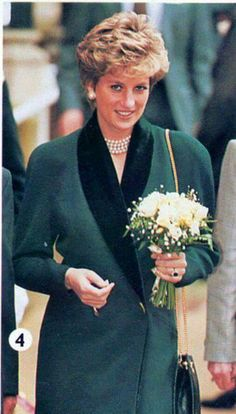 January 17, 1995: Princess Diana visits school for the blind At See Ability School for the blind in Leatherhead.