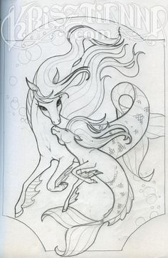 °Hippocampus family ~ Sketch 8 by Krisztianna