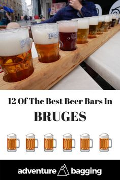 Best Beer Bars In Bruges, Belgium. One bar/café is missing in this list: 'The Red Rose' which we can definitely count among the best beer cafés in Bruges. So the title should be: 13 of the Best Beer bars in bruges ; Brugges Belgium, Belgium Bruges, Belgian Beer Cafe, Bed And Breakfast, European City Breaks, Lokal, Beer Bar, Best Beer, Cool Bars