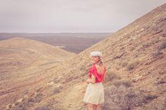 Lanzarote travel blogger Calder vintage vulcano