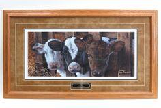 `Got Milk` 35 x 20 Framed Print by Jerry Gadamus