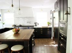 The Full Kitchen Reveal | Chris Loves Julia .... Windows = light and airy