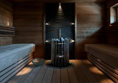 Saunaremontin huolellinen suunnittelu varmistaa remontin hallitun ja nopean toteuttamisen. Lue Meidän Talon vinkit ja tee saunaremontille kunnollinen suunnitelma! Saunas, Patio, Lighting, House, Home Decor, Ideas, Decoration Home, Home, Room Decor