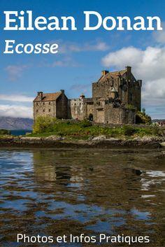 Découvrez le fameux chateau Eilean Donan en Ecosse. Situé au au croisement de 3 lochs près de l'isle de Skye, le château défend la région. Plein de photos dans l'article et des informations pratiques pour planifier votre visite et photographier le château.