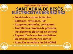 Electricistas SANT ADRIÀ DE BESOS 603 932 932 Baratos