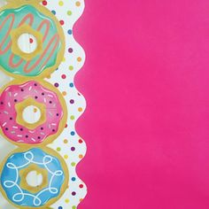 "The start of our ""If You Give A Dog A Doughnut"" bulletin board! Totally scored on this brand new boarder they were just putting out when I walked into on Monday! Candy Bulletin Boards, Bulletin Board Borders, Reading Bulletin Boards, Classroom Bulletin Boards, Candy Theme Classroom, Classroom Decor Themes, Donuts, Classroom Borders, Candyland"