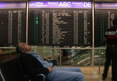It's not impossible to sleep in an airport, especially if you don't mind planning ahead or thinking beyond the chairs at the departure gate.