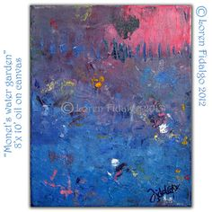 Original Abstract Modern Contemporary Painting by LorenFidalgoArt, $80.00