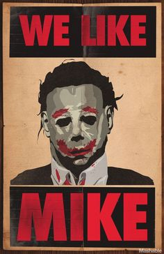 Artist Turns Horror Villains into Presidential Candidates