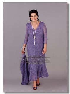 mother of the bride dresses plus size purple - Google Search