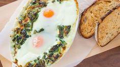 Fresh Spinach Recipes, Creamy Spinach, Breakfast Dishes, Breakfast Recipes, Breakfast Ideas, Most Popular Recipes, Favorite Recipes, Egg Recipes, Cooking Recipes