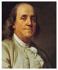 Ben Franklin's closing technique