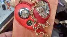 A steampunk heart