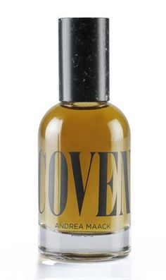 Coven Andrea Maack perfume--This is an Oriental Woody fragrance for women and men. Coven was launched in 2013. The fragrance features woody notes, green grass, soil tincture, oakmoss, whiskey and spicy notes.