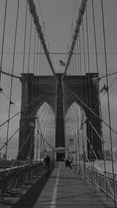 Bridge Dark Over River City iPhone 6 wallpaper